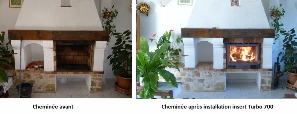 Inserts bois azur poele po les granul s po les bois for Installer une cheminee dans une maison