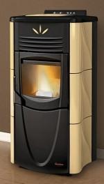 po les la nordica extraflame azur poele po les granul s po les bois. Black Bedroom Furniture Sets. Home Design Ideas