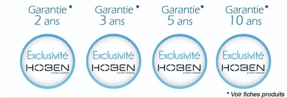Garanties des poeles Hoben