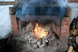 fumiste pour feu de cheminée
