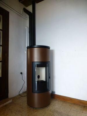 po le a pellet tube de mcz azur poele po les granul s po les bois. Black Bedroom Furniture Sets. Home Design Ideas